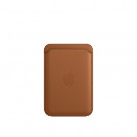 APPLE LEATHER WALLET BROWN IPHONE 12