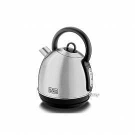 Black & Decker Kettle 1.7L 2200W Stainless Steel