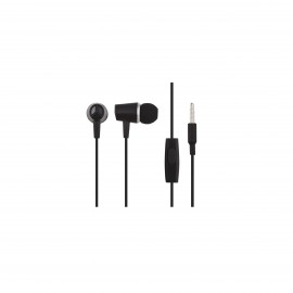HOCO HONOR MUSIC UNIVERSAL EARPHONES WITH MICROPHONE BLACK