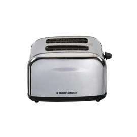 Black & Decker Toaster 2 Slices 1050W Stainless Steel