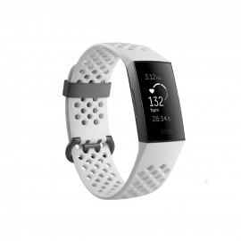 FITBIT CHARGE 3, SPECIAL EDITION, GRAPHITE WHITE COLOR, SMAL