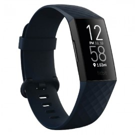 FITBIT Charge 4 Fitness and Activity Tracker - Blue/Black