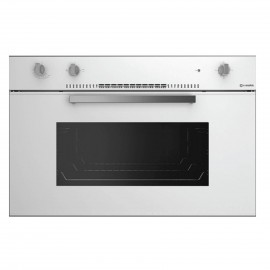 SMALVIC OVEN 90 CM GAS ELECTRIC WHITE