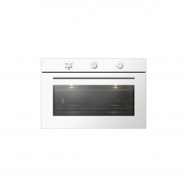 FLORA (BG) OVEN GAS GAS 90CM 120 LTR CONVECTION FAN WHITE