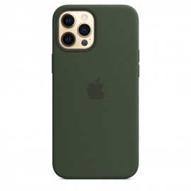 APPLE SILICON CASE FOR IPHONE 12 PRO MAX GREEN