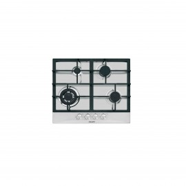 GLEM GAS HOB 60CM 4 GAS BURNERS SAFETY STAINLESS STEEL