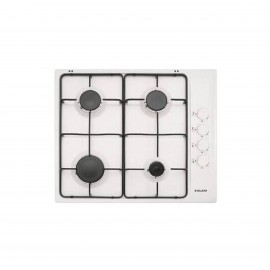 G.GAS HOB 60CM 4 GAS IGNITION WHITE WITH SAFETY