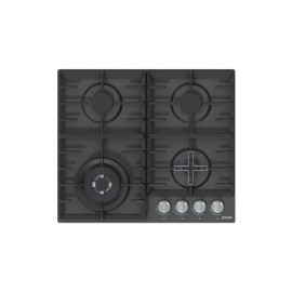 GORENJE HOB 60CM 4GAS BLACK SAFETY CAST IRON