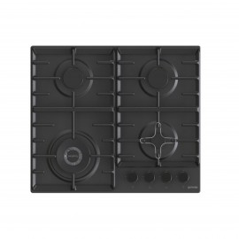 GORENJE HOB GAS 60CM SAFETY CAST IRON BLACK (GW642SYB)