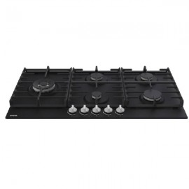GORENJE Hob 90 cm 5 Gas Burners Safety Cast Iron Black