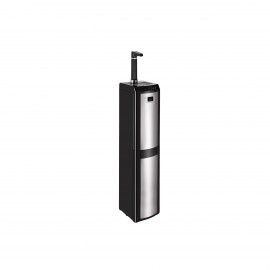 Super Chef Water Dispenser Bottom Load Black & Stainless