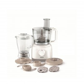 Philips Food Processor Daily Collection 650W , White