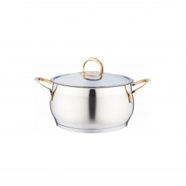 Falez Stewpot Rumba Gld Stainless Steel 28 Cm