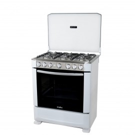 MABE COOKER WIDE  76CM6 GAS BURNER   WHITE