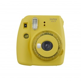 INSTAX MINI 9 CLEAR YELLOW INSTANT CAMERA