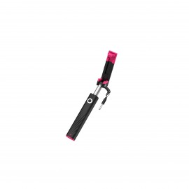 HOCO DAINTY MINI WIRED SELFIE STICK BLACK