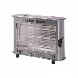 KUMTEL HEATER+THERMOST.,QUARTZ,4 LEVELS HEAT.