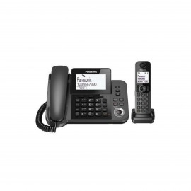 PANASONIC CORDED & CORDLESS PHONE - COMBO - ANSWERING SYSTEM