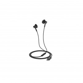 HOCO GRANDE TYPE-C DIGITAL WIRED EARPHONES BLACK