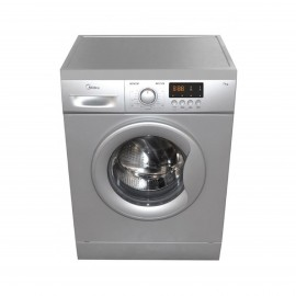 MIDEA Washer Front Load 7 kg 1000 RPM Silver
