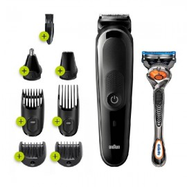 Braun All-in-one Trimmer 8-in-1 Trimmer with 6 Attachments a