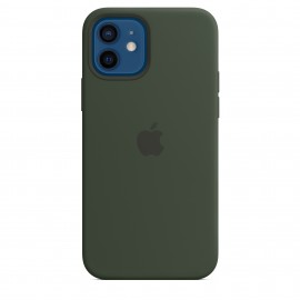 APPLE SILICON CASE FOR IPHONE 12/12 PRO GREEN