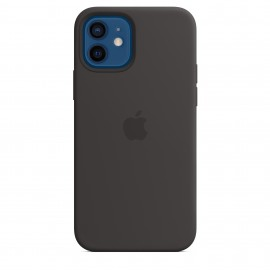 APPLE SILICON CASE FOR IPHONE 12/12 PRO BLACK