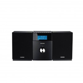 GRUNDIG MS 510 MINI HI-FI SYSTEM - BLACK
