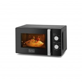 BLACK & DECKER MICROWAVE 20 L 700 W BLACK