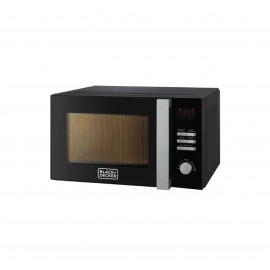 BLACK & DECKER MICROWAVE 28 L 900 W + GRILL BLACK