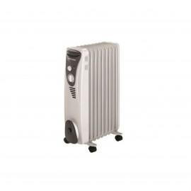 BLACK & DECKER OIL RADIATOR 7 FIN 1500 W WHT