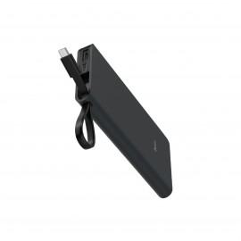 HOCO POWER BANK 10,000MAH BLACK MICRO CABLE