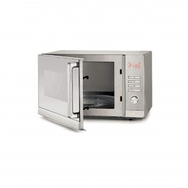Black & Decker Microwave 30 L 900 W,With Grill,Silver