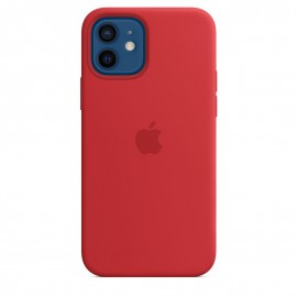 APPLE SILICON CASE FOR IPHONE 12/12 PRO RED