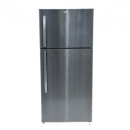 MABE REFRIGERATOR 2 DOORS 24CFT BLACK STAINLESS STEEL