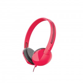 SKULLCANDY STIM RED/BURGUNDY/RED MIC1