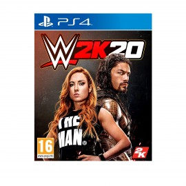PS4 VIDEO GAME WWE 2K20