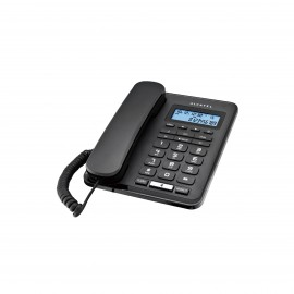 ALCATEL TELEPHONE CORDED T50 BLACK