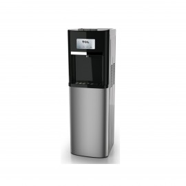 Tcl Water Dispenser Bottom Load 3 Taps Black & Stainless
