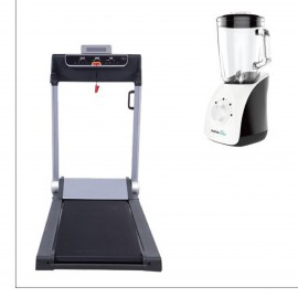 Smart Treadmill Compact Folding 2 Hp + Blender 1.5L 750W Glass Jug
