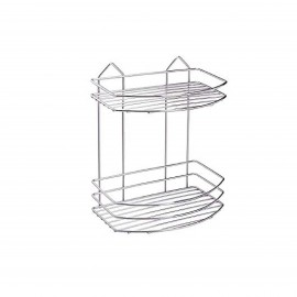 """TEKNOTEL BK.008.01 BATH 2 SHELVES CHR"