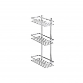 """TEKNOTEL ES.065.01 BATH 3 SHELVES-CHR"
