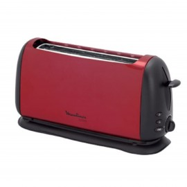 MOULINEX TOASTERS 1000W 2 SLOTS, RED