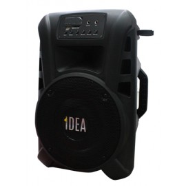 IDEA SPEAKER 2 MIC WIRELESS USB SD 40W RMS