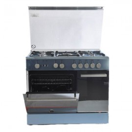 LA GERMANIA COOKER 90CM BOTTLE 4GAS+1TB STAINLESS