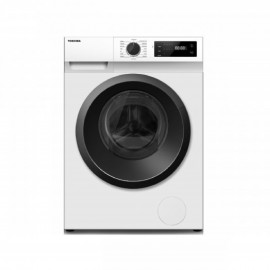TOSHIBA WASHER FRONT LOAD 8KG 1200RPM WHITE