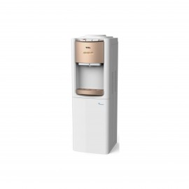 Tcl Water Dispenser 3 Taps With Cabinet White & Gold
