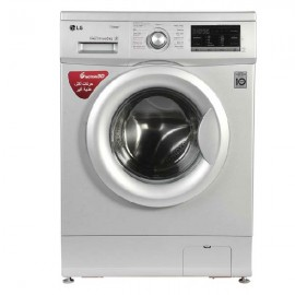 LG Washer Front Load 8 kg 1400 RPM Silver