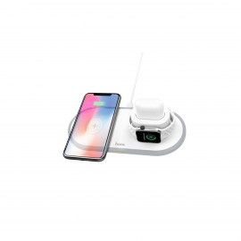HOCO WIRELESS CHARGER (IPHONE,AIRPODS,WATCH) & QI ENABLED