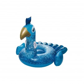 BESTWAY INFLATABLE RIDE ON PEACOCK POOL FLOAT 198 CM *1.64